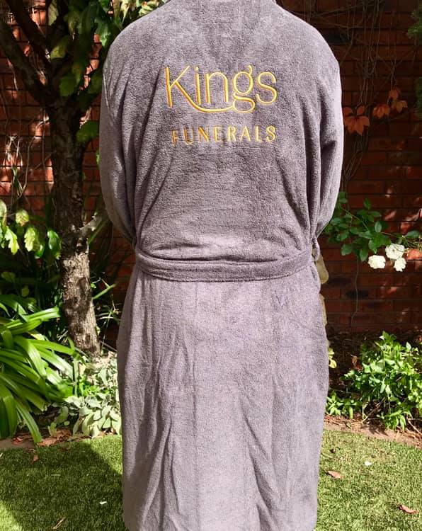 Kings Funerals AFLW Gowns