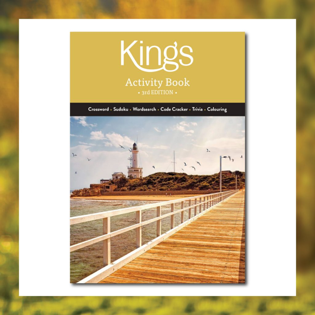 Kings Funerals Complimentary Activity Books