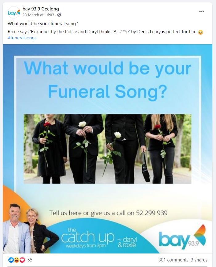 Funeral Songs - Bay 99.9