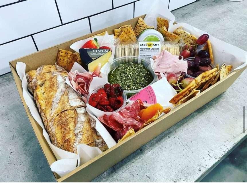 The Fresh Food Merchant Geelong Platter